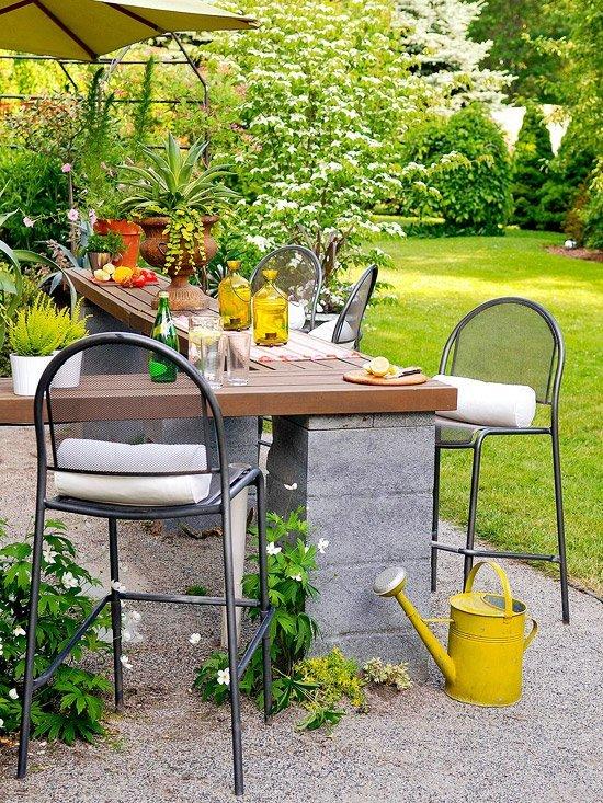 Reas externas aproveite o ver o ao ar livre simplichique for Decorar jardin barato
