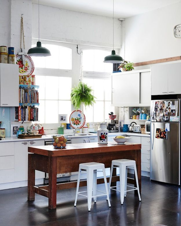 Cozinha Com Ilha Em Uma Cozinha Quadrada Pequena Instale A Pia E Os