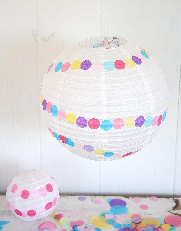 confetes carnaval paperlanternDIY