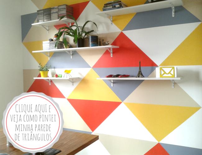 parede home office simplichique by manuela lopes