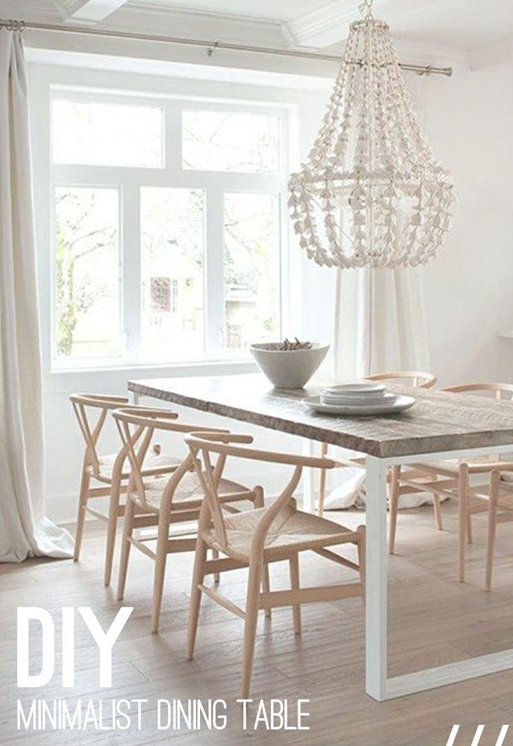 4 ideias lindas de mesa de jantar para voc tentar fazer em casa. Black Bedroom Furniture Sets. Home Design Ideas