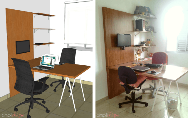 como montar home office 09