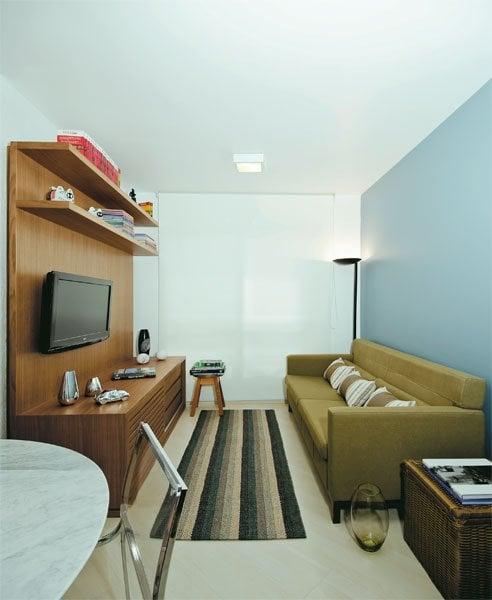 11 salas pequenas de apartamento simplichique for Salas en l pequenas