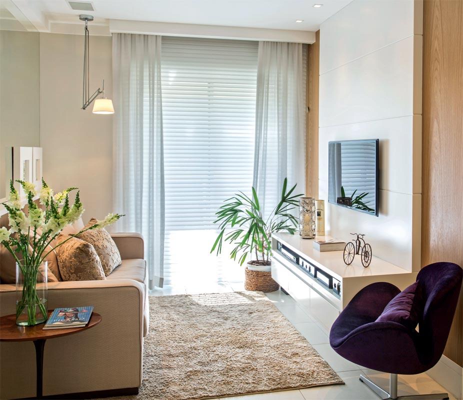 salas pequenas de apartamento 10