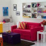 A versatilidade do sofá-cama