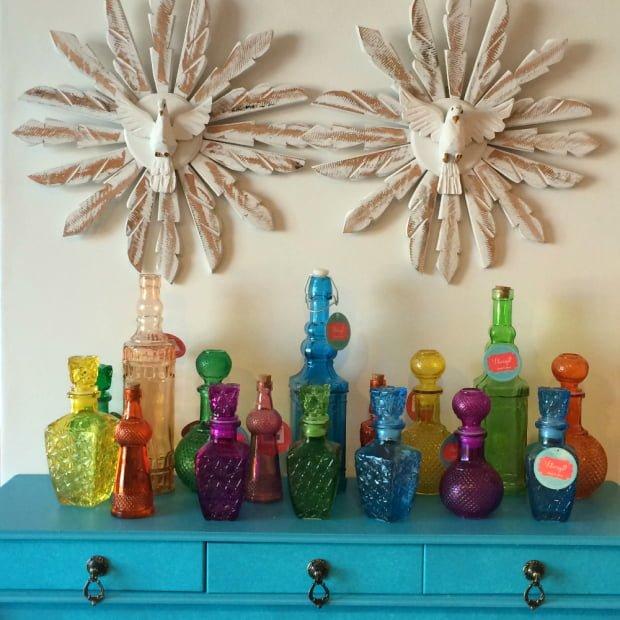 garrafas decorativas 10