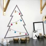 Árvores de Natal para quem não tem espaço