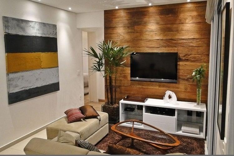 Dicas para decorar salas pequenas simplichique for Modelos de salas para casas pequenas