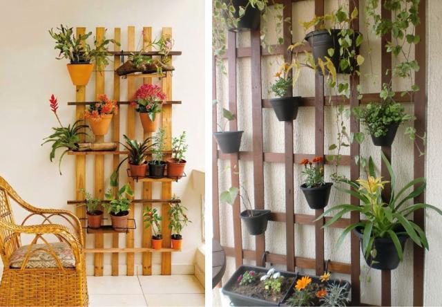 jardim vertical ideias:jardim vertical barato estrado de cama 18 20