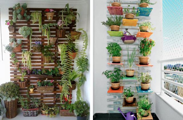 jardins verticais 6 ideias baratas e bonitas simplichique On jardin vertical barato
