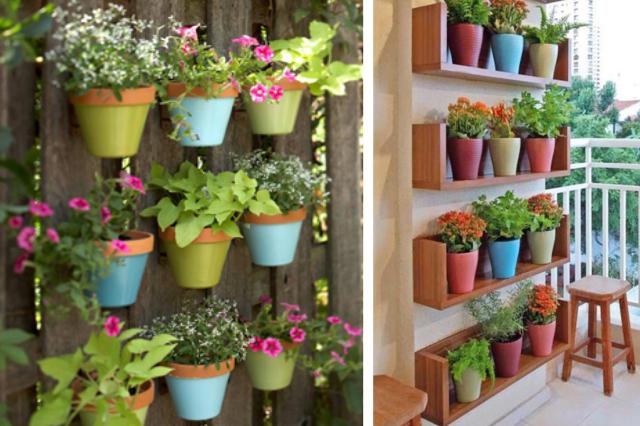 ideias de jardins lindos:ideias de jardins verticais baratos e bonitos