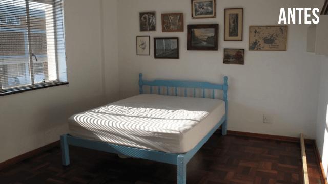 DIY projeto quarto multiuso ANTES