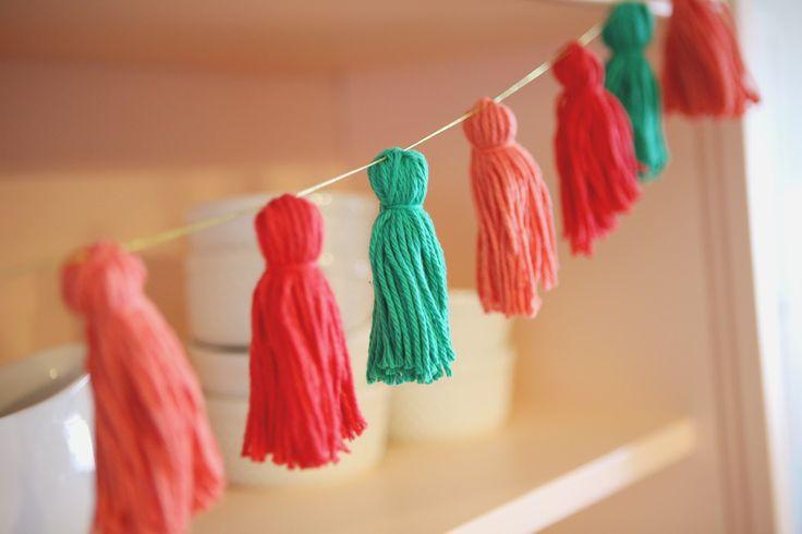 diy decoração com lã 07