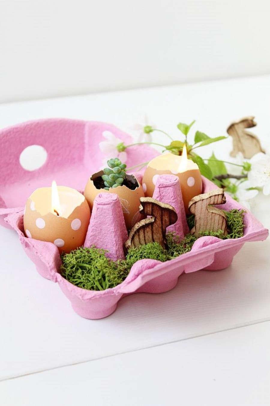 decoração de mesa páscoa 04