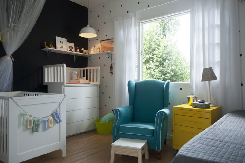 As melhores cores para o quarto do seu bebê