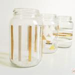 {VEDA 2016} DIY: Potinhos de vidro customizados