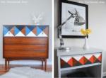 Formas geométricas 2D na decoração