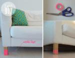 Aprenda a decorar móveis usando washi tape