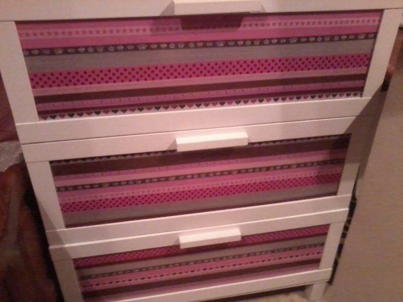 Aprenda a decorar m veis usando washi tape simplichique - Decorar con washi tape ...