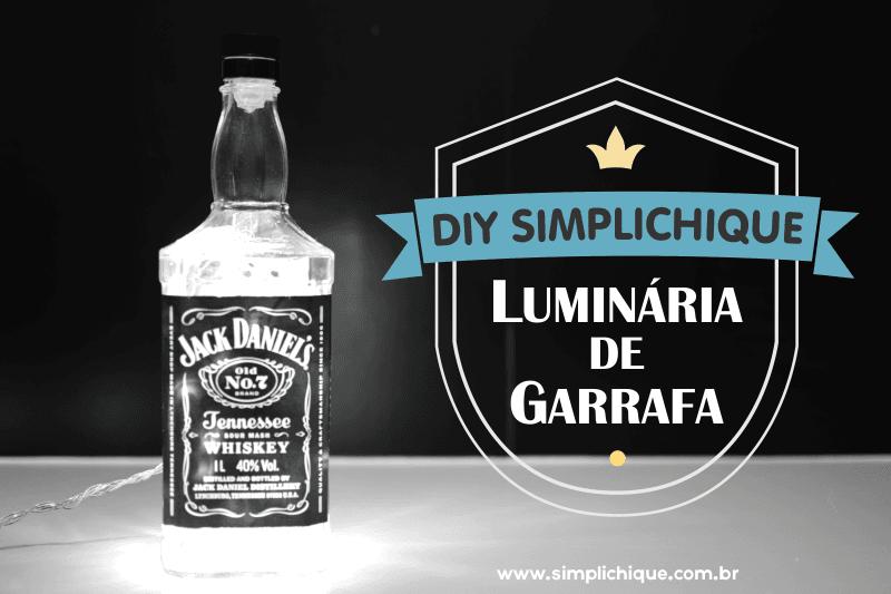 DIY Luminária de garrafa simplichique header