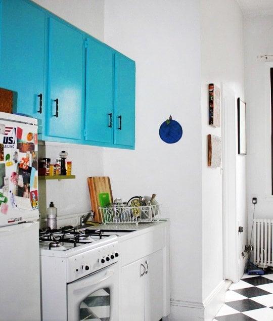 armário de cozinha colorido 06