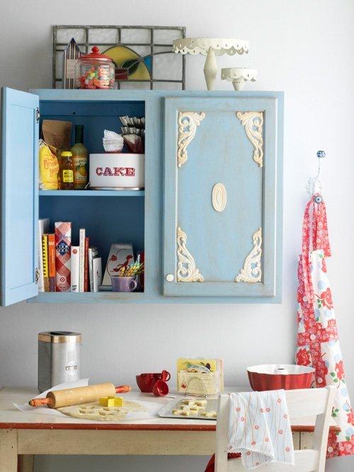 armário de cozinha colorido 07