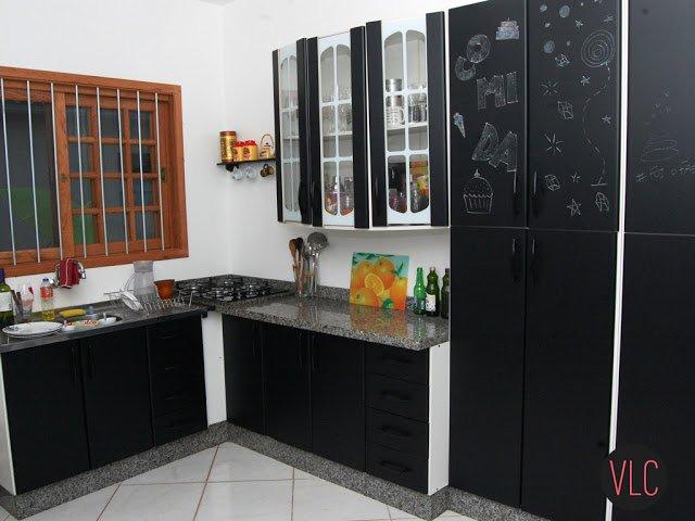 armário de cozinha colorido 12