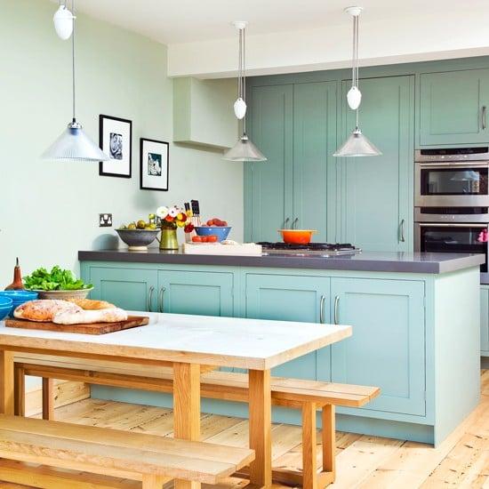 armário de cozinha colorido 14