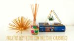 DIY: Objetos decorativos feitos com palito de churrasco