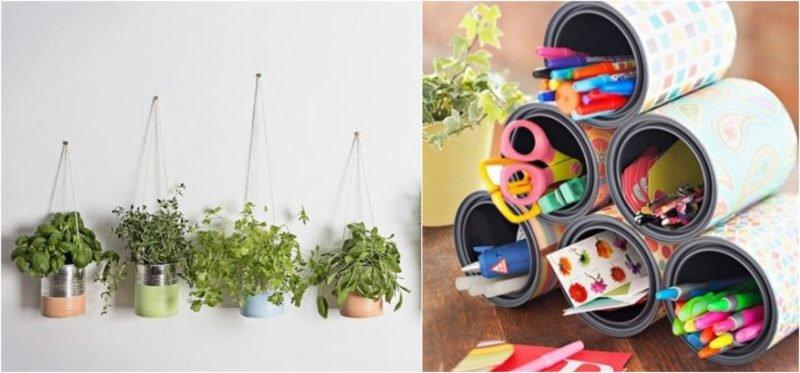 6 objetos reciclados que podem incrementar sua decoração -> Banheiro Decorado Com Objetos Reciclados