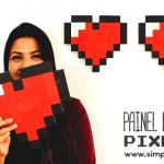 DIY Painel geek de recados pixelado – Projeto #NãoÉcópia