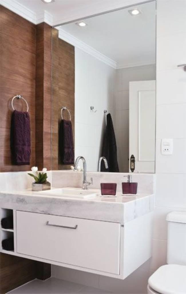 Bancadas de banheiros pequenos dicas para não errar -> Banheiro Pequeno Moveis