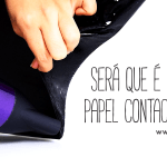 Como retirar papel contact da parede?