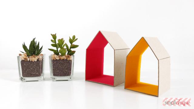 Diy casinha decorativa baratinha feita com papel paran for Aggiungere ai piani di casa