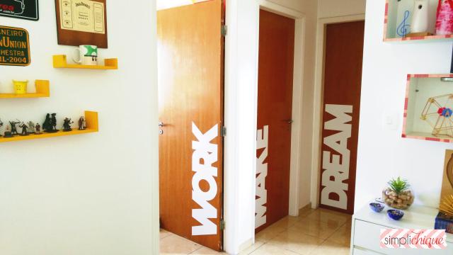 como decorar portas