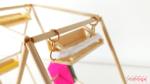 DIY Mini roda gigante com palitos de churrasco (que gira de verdade)