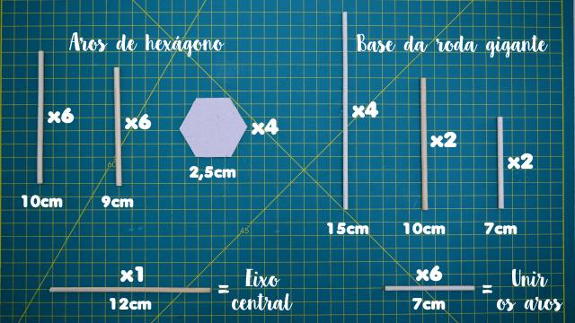 diy roda gigante simplichique quantidades