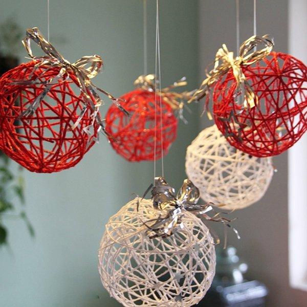 ideias de decora o de natal baratas para fazer em casa simplichique. Black Bedroom Furniture Sets. Home Design Ideas