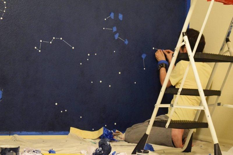 diy pintura de parede 09