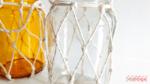 DIY Potes de vidro decorados com macramê + outras inspirações