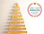 Minha árvore de Natal minimalista, DIY e super barata!