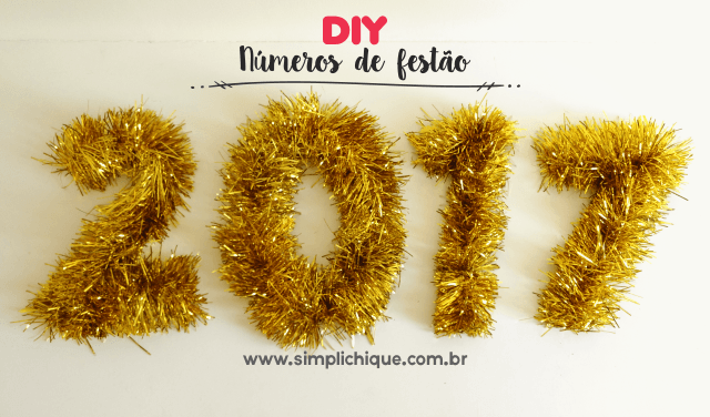 reveillon 2017 diy