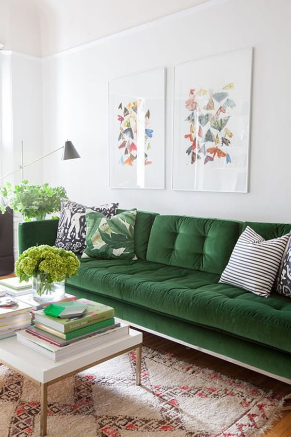 Como usar sofá de veludo e dicas para limpar sofá | Simplichique