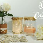 3 sugestões DIY para decoração de casamento gastando pouco