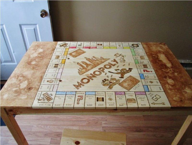mesa de jogos