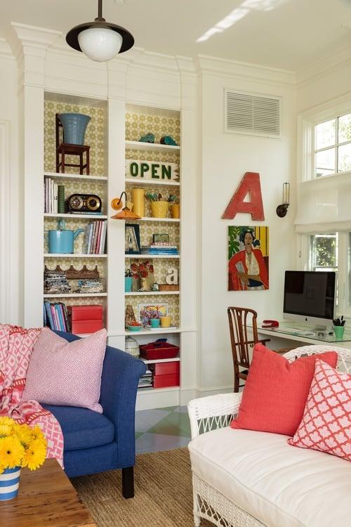 decoração casa de campo