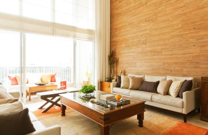4 ideias baratas para revestir parede sem gra a simplichique - Vinilico para paredes ...