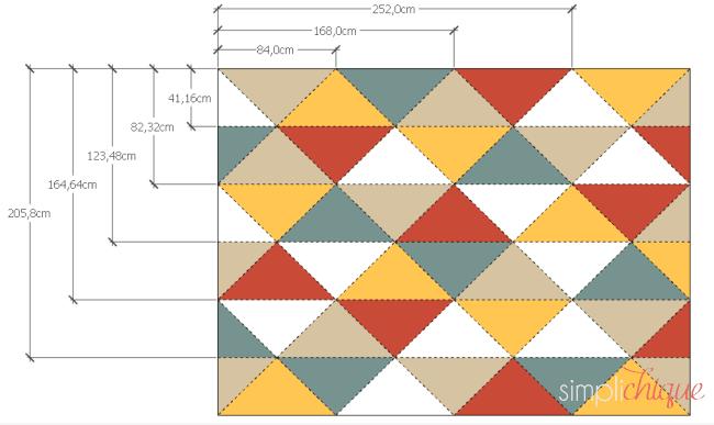 pintura parede de triângulos simplichique 02