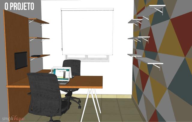 Como montei meu home office