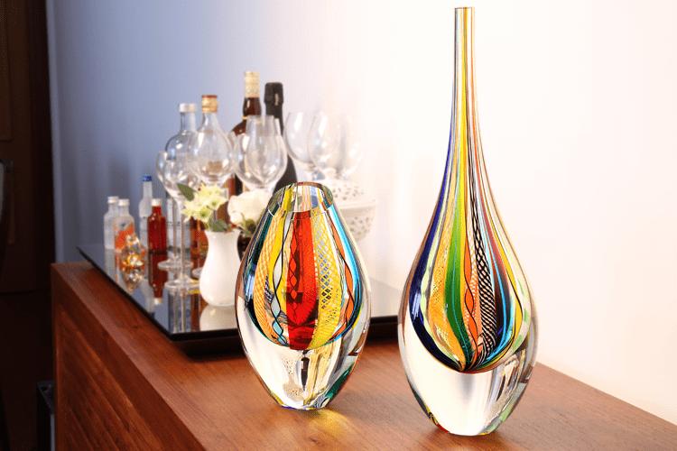 Vidros e cores: decore sua casa com estilo